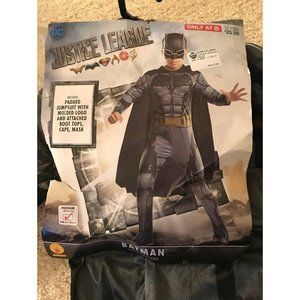 Batman Justice League Costume Sz 8-10